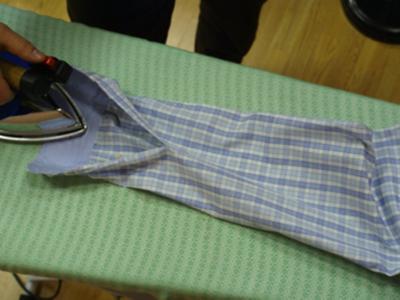 Как правильно гладить мужскую рубашку