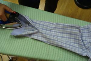 Как легко и просто погладить мужскую сорочку
