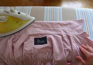 Как гладить воротник и рукав