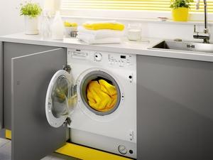 Кухни со встроенной стиральной машиной