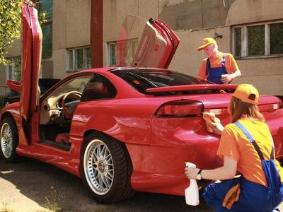 Сухой метод очистки кузова автомобиля: новые возможности и идея для бизнеса