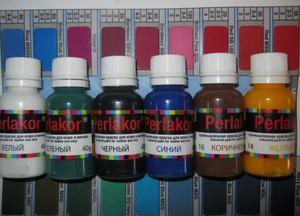 Краска для кожи Perlakor поможет вернуть кожаному изделию новый вид.
