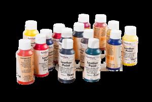Leather Paint - это краска, предназначенная для натуральной кожи.