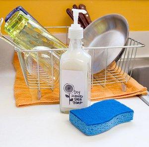 Посудное моющее средство своими руками