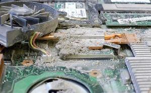 Причины почему важно чистить ноутбук