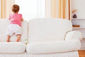 Очистка мебели: как избавляться от запаха и пятен мочи на диване
